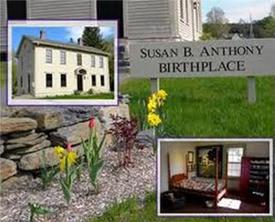 susan b anthony birthplace museum photo