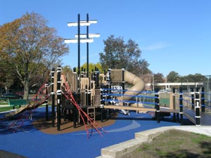 Dorothy Curran Play Area at Moakley Park