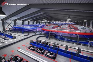 supercharged entertainment  go karting photo