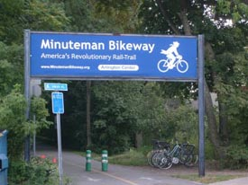 minuteman bike trail photo