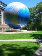 the globe at babson college photo