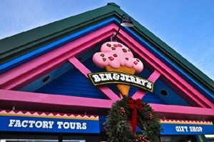 ben  jerry's factory tours photo