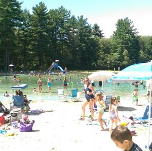 Spring Brook Park Swim Area