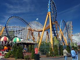 Six Flags New England & Hurricane Harbor