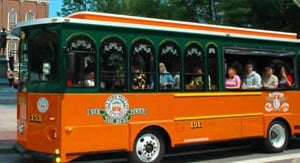 old town trolley tours photo