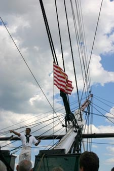 uss constitution 'old ironsides' photo