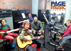 page music lessons photo