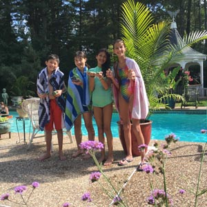okie dokie art swim  nature island camp photo
