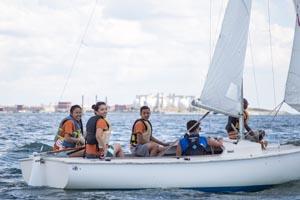 summer youth sailing programs at courageous sailing photo