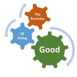 the business of doing good photo