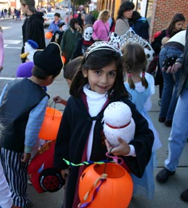 halloween trick or treat in maynard - cancelled for 2021 photo