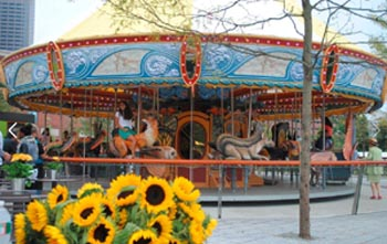 Carousel Rides on the Greenway