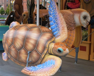 greenway carousel photo