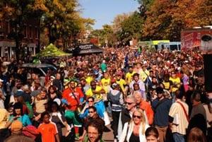 annual oktoberfest  honk festival 2019 harvard square photo