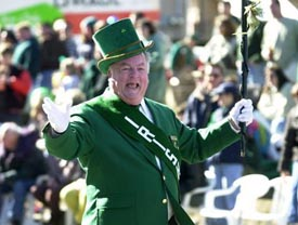 st patrick's day parade - worcester photo