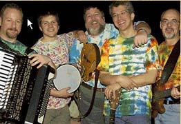 ben rudnick  friends outdoor summer concert photo