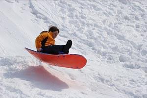 favorite sledding hills in the boston area photo