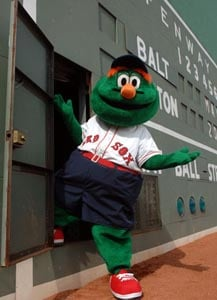 Meet Wally The Green Monster At Iparty South Bay Center Boston