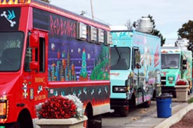 The Boston Food Truck Festival At The UMass Boston Campus