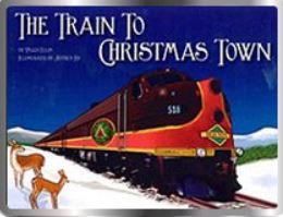 cape cod train to christmas town polar express photo