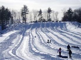 snow tubing at nashoba valley photo