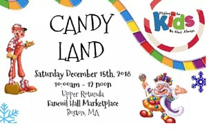 candyland tournament at faneuil hall photo