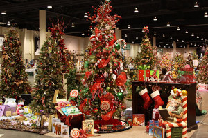 festival of trees and snow village at mass hort photo
