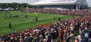patriots football training camp photo