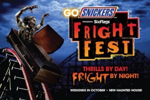 six flags fright fest 2019 photo