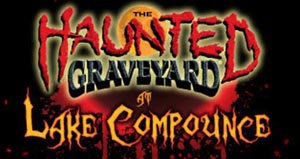 the haunted graveyard at lake compounce photo