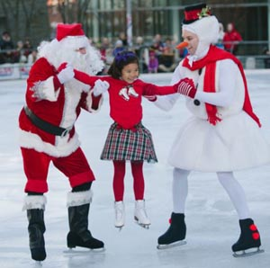 annual kendall square holiday on ice celebration photo