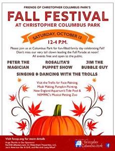 columbus park fall festival photo