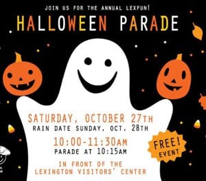 LexFUN! Annual Halloween Parade 2018 (INDOOR LOCATION)