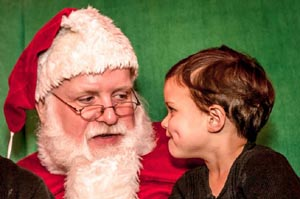 santa saturdays at franklin park zoo photo