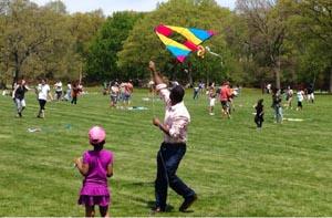 franklin park coalition's kite  bike festival photo