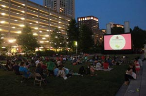 summer movies on the greenway photo