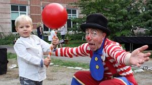 kids' shows davey the clown photo