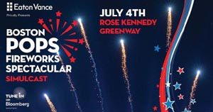 greenway fireworks simulcast of the boston pops spectacular 2019 photo