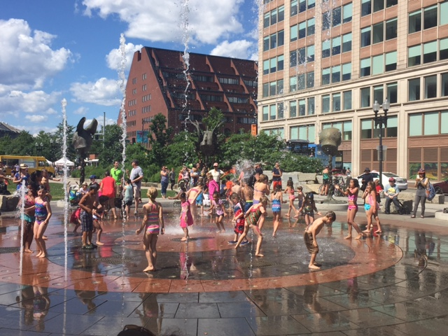 guide to boston spray parks  wading pools photo