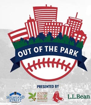boston red sox's 'out of the park' game watch event photo