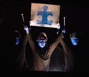 blue man group boston annual autism-friendly show saturday photo
