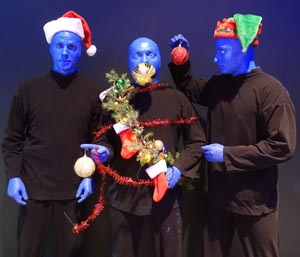 blue man group holiday shows photo