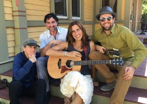 live music with vanessa trien and the jumping monkeys photo