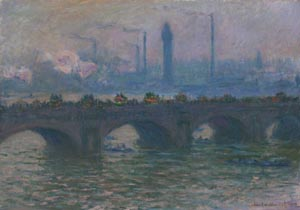 monet's waterloo bridge vision and process photo