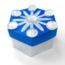 snowflake stow box craft photo