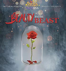 beauty and the beast at larcom theatre photo