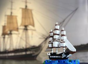 lego maritime festival at uss constitution museum photo
