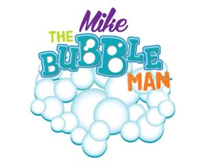 kid saturday mike the bubble man photo