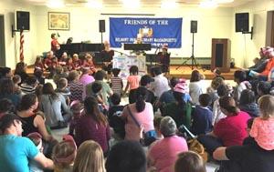 musical storytelling program at groton library photo