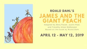 james and the giant peach at wheelock family theatre photo
